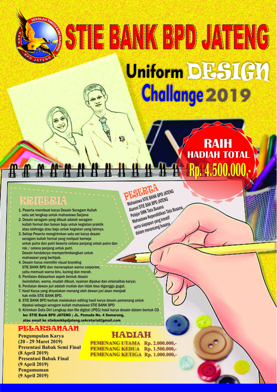 PENDAFTARAN UNIFORM DESIGN CHALENGE 2019